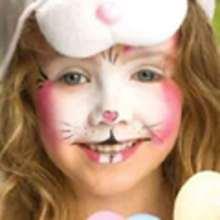 Maquillaje CONEJO DE PRIMAVERA - Manualidades para niños - MAQUILLAJE para niños - Maquillaje ANIMALES - Maquillaje CONEJO