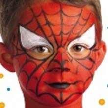 Maquillaje SUPERHEROE - MAQUILLAJE para niños - Manualidades para niños