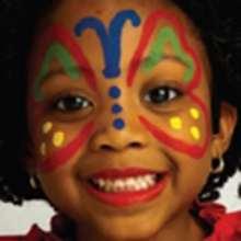 MARIPOSA fácil - Manualidades para niños - MAQUILLAJE para niños - Maquillaje MARIPOSA