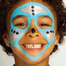 Maquillaje ROBOT - Manualidades para niños - MAQUILLAJE para niños - Maquillajes de CARNAVAL