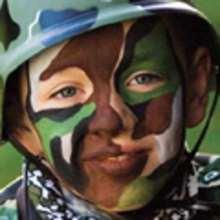 Maquillaje SOLDADO - Manualidades para niños - MAQUILLAJE para niños - Maquillajes de CARNAVAL
